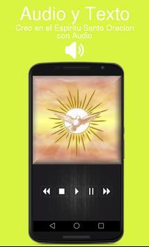Creo en el Espiritu Santo Oracion con Audio poster