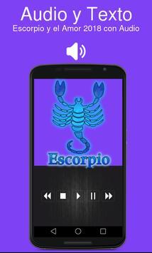 Escorpio y el Amor 2018 con Audio screenshot 1
