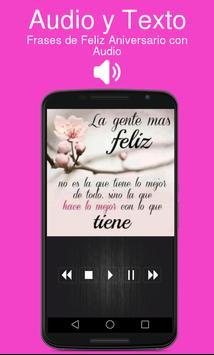 Poema Feliz Aniversario Mi Amor Con Audio screenshot 1