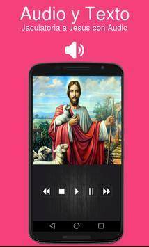 Jaculatoria a Jesus con Audio poster