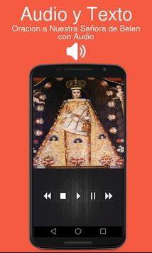Oracion a Nuestra Señora de Belen con Audio poster