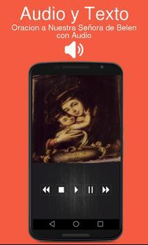 Oracion a Nuestra Señora de Belen con Audio screenshot 1