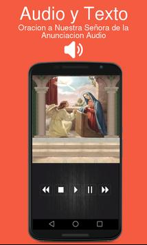 Oracion a Nuestra Señora de la Anunciacion Audio poster