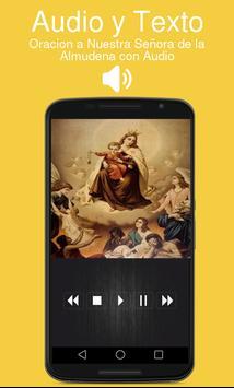 Oracion a Nuestra Señora de la Almudena con Audio screenshot 1