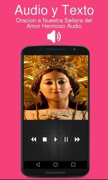 Oracion a Nuestra Señora del Amor Hermoso Audio screenshot 1