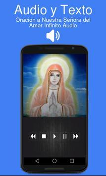 Oracion a Nuestra Señora del Amor Infinito Audio screenshot 1