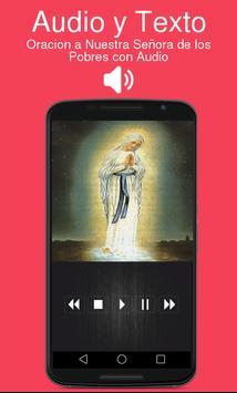 Oracion a Nuestra Señora de los Pobres con Audio screenshot 1