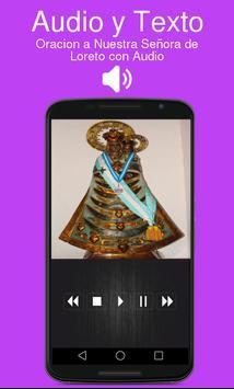 Oracion a Nuestra Señora de Loreto con Audio poster