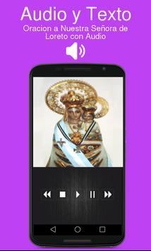 Oracion a Nuestra Señora de Loreto con Audio screenshot 1