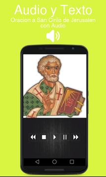 Oracion a San Cirilo de Jerusalen con Audio poster