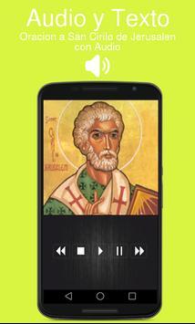 Oracion a San Cirilo de Jerusalen con Audio screenshot 1