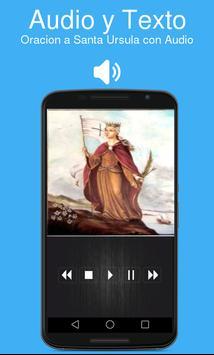 Oracion a Santa Ursula con Audio screenshot 1