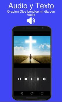 Oracion Dios bendice mi dia con Audio poster