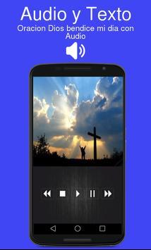 Oracion Dios bendice mi dia con Audio screenshot 1