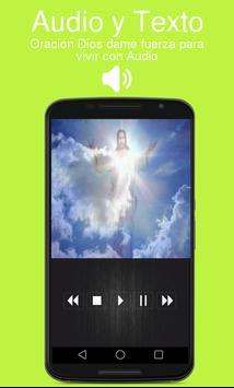 Oracion Dios dame fuerza para vivir con Audio poster