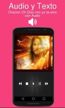 Oracion Oh Dios mio yo te amo con Audio poster