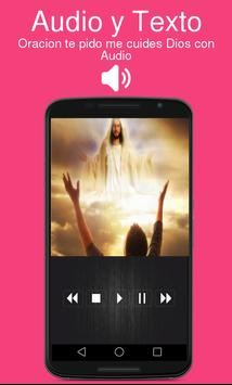 Oracion te pido me cuides Dios con Audio screenshot 1