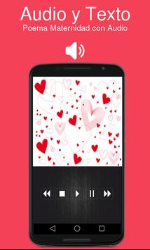 Poema Maternidad con Audio apk screenshot