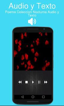 Poema Coleccion Nocturna Audio y Texto apk screenshot