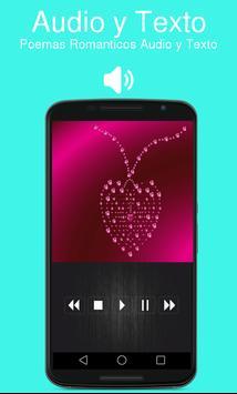 Poemas Romanticos Audio y Texto poster
