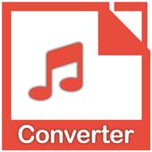 MP3 Audio Converter:MP3:MP3 format changer icon