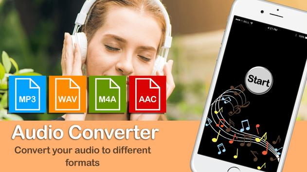 MP3 Audio Converter:MP3:MP3 format changer poster