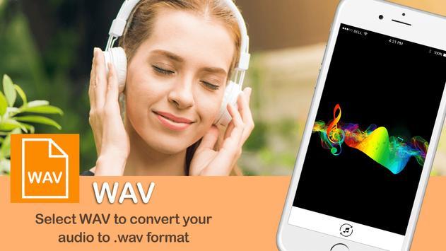 MP3 Audio Converter:MP3:MP3 format changer screenshot 2