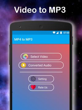 Mp4 to Mp3 converter apk screenshot