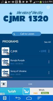 CJMR screenshot 1