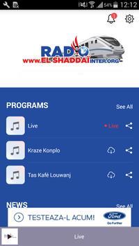 EL Shaddai Inter poster