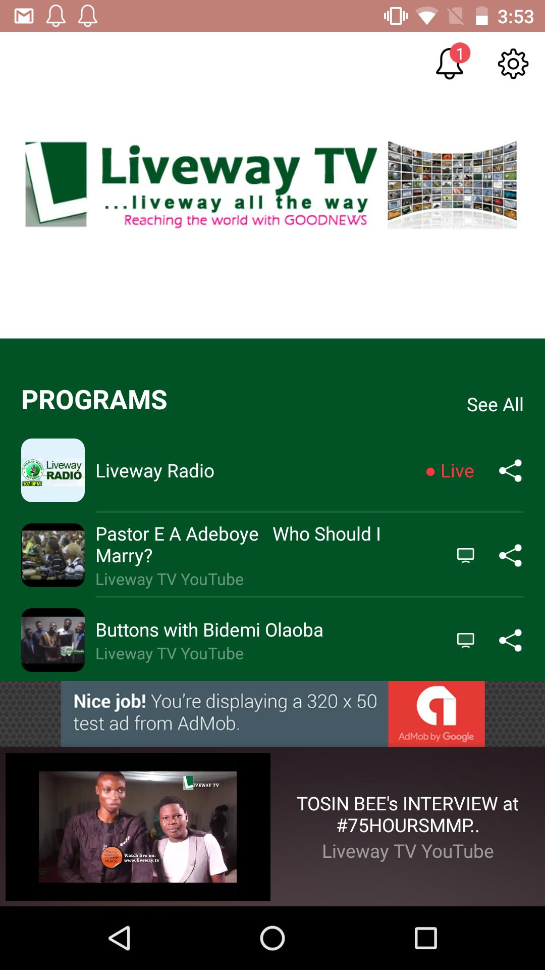 Liveway TV for Android - APK Download