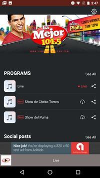 LA MEJOR 104.5FM poster