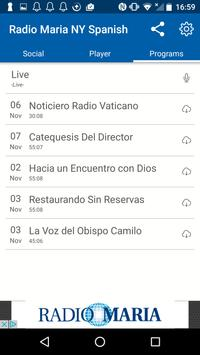 Radio Maria Spanish apk screenshot