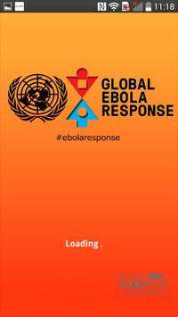 Global Ebola: UN Multimedia poster