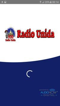Radio Unida 920 AM poster