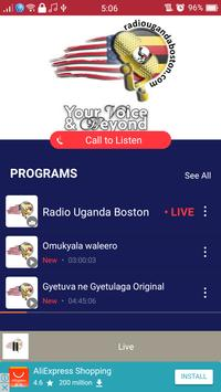 Radio Uganda Boston screenshot 1