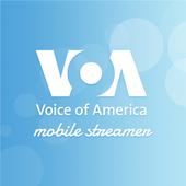 VOA Mobile Streamer أيقونة