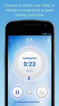 VOA Mobile Streamer الملصق