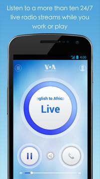 VOA Mobile Streamer تصوير الشاشة 2