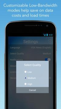 VOA Mobile Streamer تصوير الشاشة 3