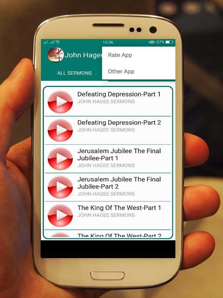 John hagee app