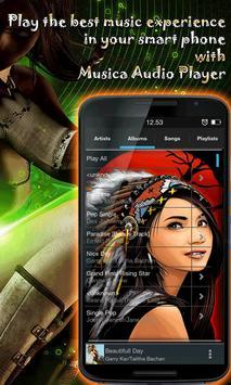 Musica Audio Player apk screenshot