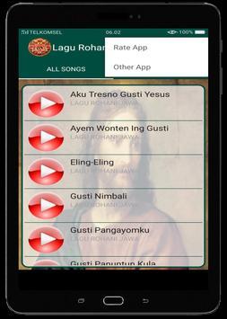 Lagu Rohani Jawa screenshot 13