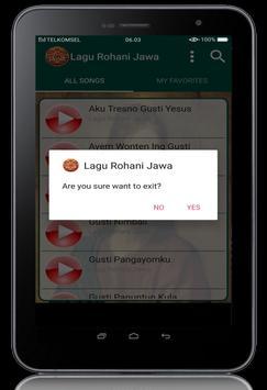 Lagu Rohani Jawa screenshot 22