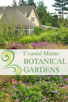 Coastal Maine Botanical Garden poster
