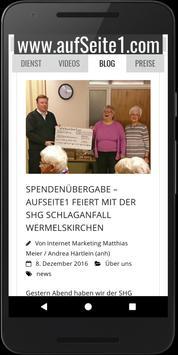 aufSeite1.com mit AdWords apk screenshot