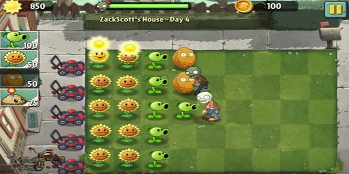 Poster Guide for Plants Vs Zombies 2