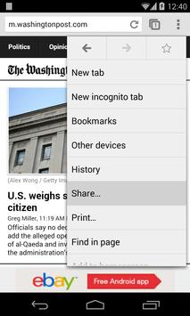 Browser Switch screenshot 1