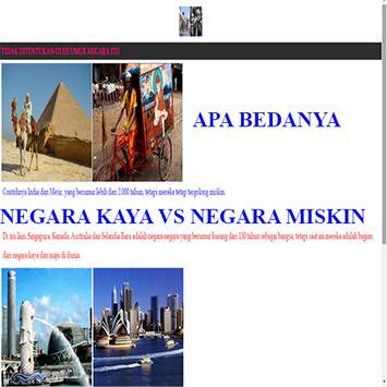 NEGARA KAYA VS NEGARA MISKIN screenshot 1