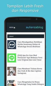 Aulianza Blog poster